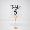 Rose Gold Crystal Table Number Holders