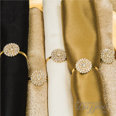 Gold Napkin Rings Bulk