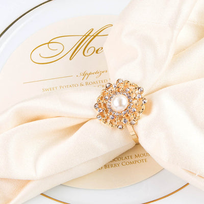 Flower Napkin Rings Wholesale
