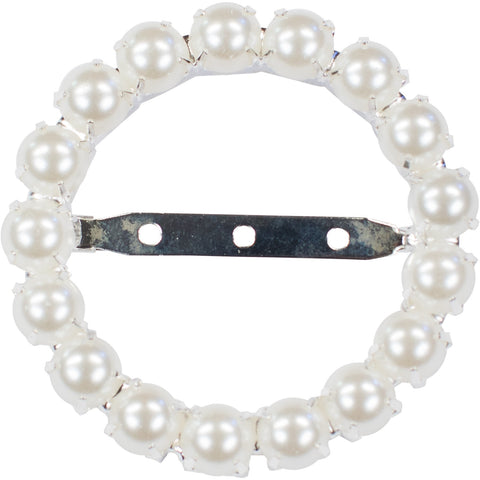 Large Pearl Buckle 220-S