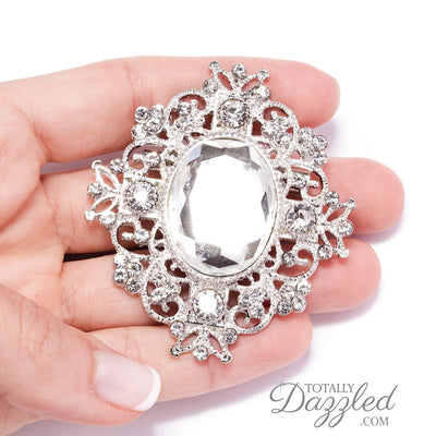 wholesale crystal brooches wedding