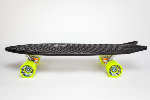 Minnow Complete Cruiser Skateboard - Yellow Wheels