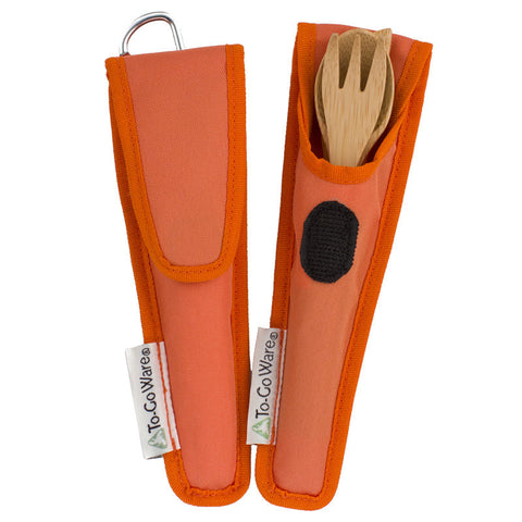 Kids Utensil Set- Orange