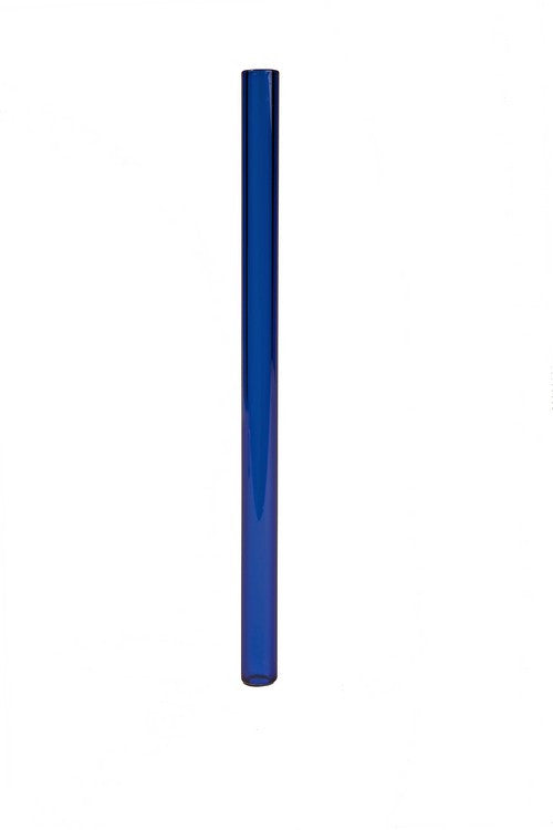 Foodware: Glass Straw - Vibrant Blue (5 Gyres)