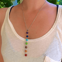 Load image into Gallery viewer, 7 CHAKRA ALIGNMENT NECKLACE