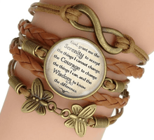 Load image into Gallery viewer, Serenity Prayer Bracelet