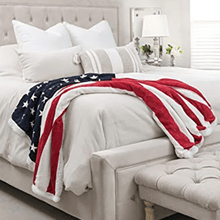 Load image into Gallery viewer, American Flag Blanket