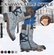 Load image into Gallery viewer, Women Arched Support Warm Snow Boots