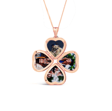 Load image into Gallery viewer, Vintage Clover Locket