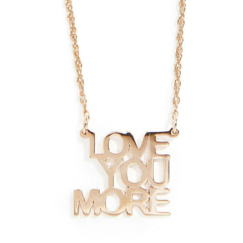 Love You More Necklace™️