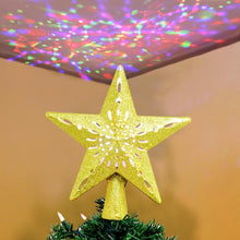 Load image into Gallery viewer, Christmas Tree Topper Projector