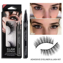 Load image into Gallery viewer, Adhesive Eyeliner & Lash Kit