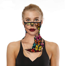 Load image into Gallery viewer, Halloween Neck Gaiter Scarf