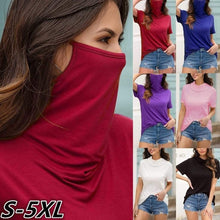 Load image into Gallery viewer, Turtle Neck Mask Shirt