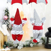Load image into Gallery viewer, Parachute Santa Decor