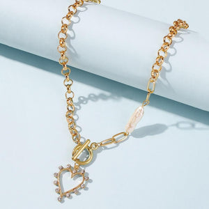 Heart Chain Necklace