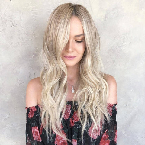 2019 New Style Long Wave Blonde Wigs | Lamon Beauty