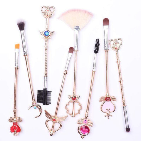 Professional Magical Girl Makeup Brushes | Lamon Beauty