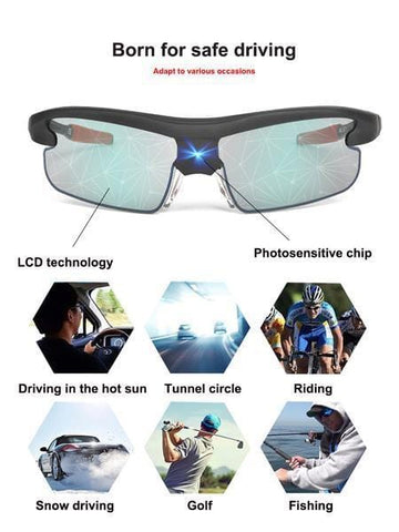 Unique 0.3 Second Automatically Switches Color-changing Sunglasses | Lamon Beauty