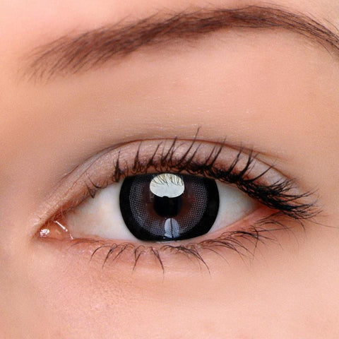 Moonlight Grey Colored Contact Lenses | Lamon Beauty