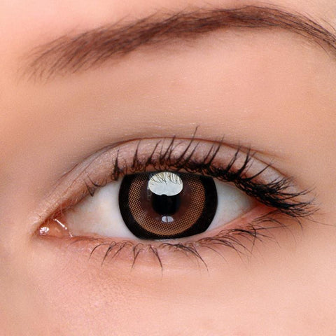 Moonlight Brown Colored Contact Lenses | Lamon Beauty