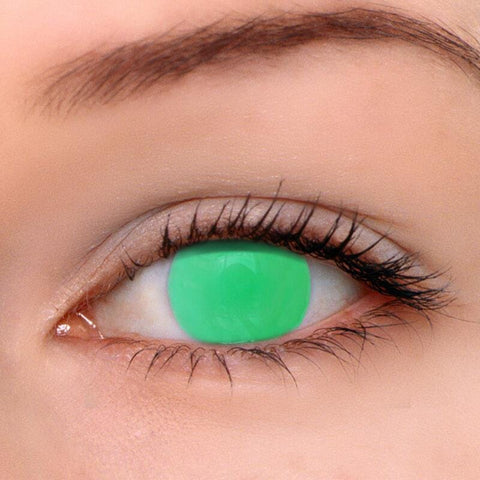 Blind Green Colored Contact Lenses | Lamon Beauty