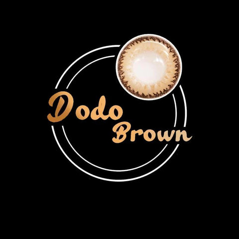 Dodo Brown Colored Contact Lenses | Lamon Beauty