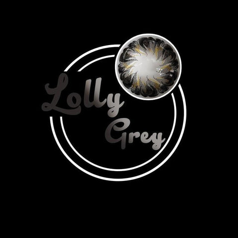 Lolly Grey Colored Contact Lenses | Lamon Beauty