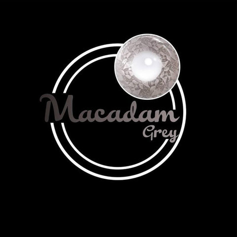 Macadam Grey Colored Contact Lenses | Lamon Beauty