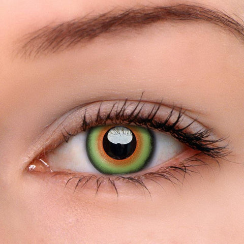 Mad Hatter Green Colored Contact Lenses | Lamon Beauty
