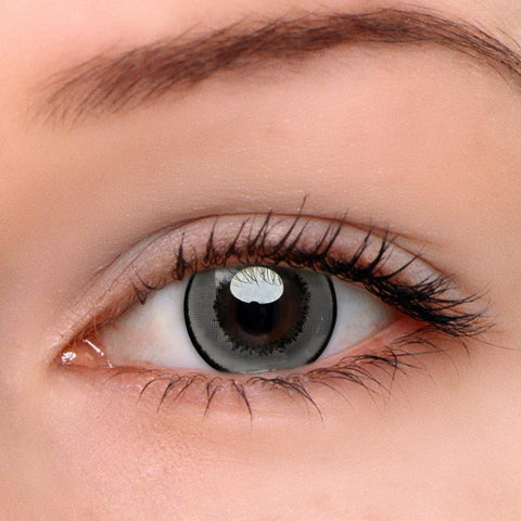 Magic Grey Colored Contact Lenses | Lamon Beauty