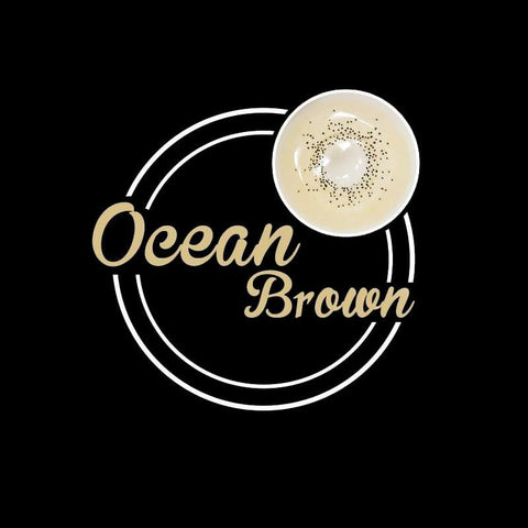 Ocean Brown Colored Contact Lenses | Lamon Beauty