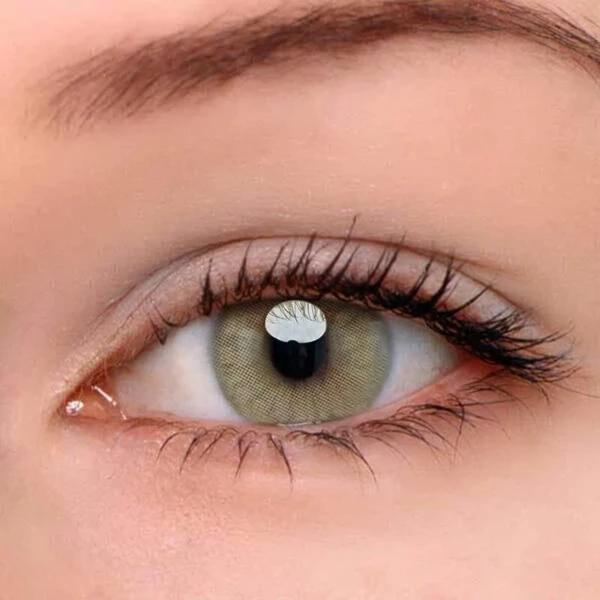 Polar Lights Brown Colored Contact Lenses | Lamon Beauty