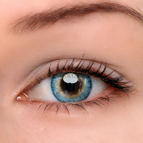 Pony Blue Colored Contact Lenses | Lamon Beauty