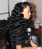 Best Sale-360 Lace Wig | Long Body Wave Wig | Black Wig | Lamon Beauty