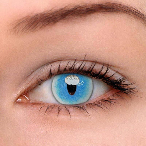 Ragdoll Cat Blue Colored Contact Lenses | Lamon Beauty