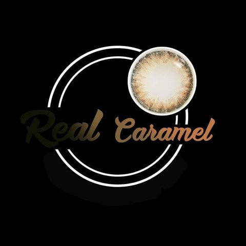 Real Caramel Colored Contact Lenses | Lamon Beauty