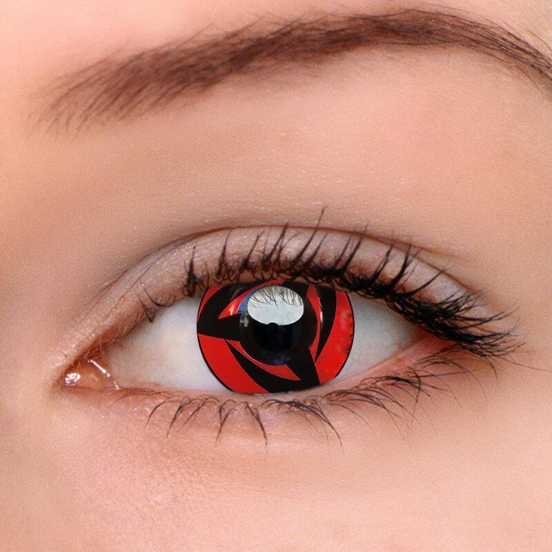 Sharingan Kakashi Cosplay Colored Contact Lenses | Lamon Beauty
