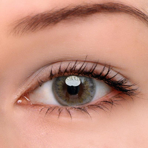 Sunflower Grey Colored Contact Lenses | Lamon Beauty