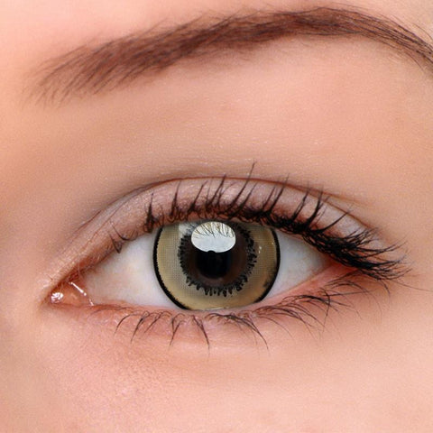 Magic Brown Colored Contact Lenses | Lamon Beauty