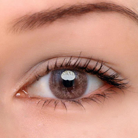 Iris Brown Colored Contact Lenses | Lamon Beauty