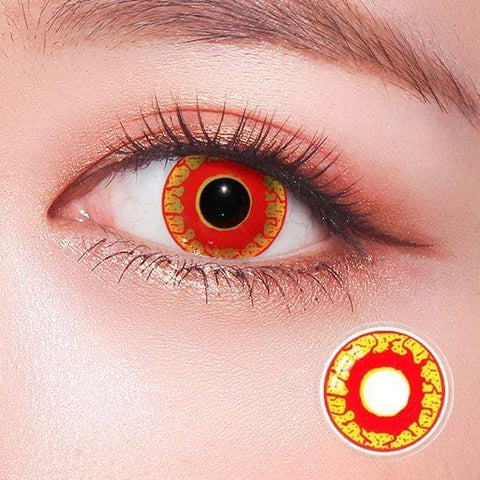 Bloody Vampire Horror Colored Contact Lenses | Lamon Beauty