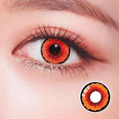 Dracula Horror Colored Contact Lenses | Lamon Beauty