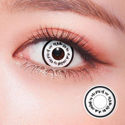 Byakugan Cosplay Contact Lenses | Lamon Beauty