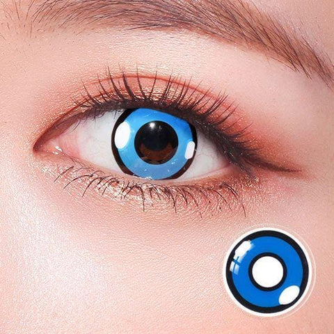 Pokemon Charmander Blue Anime Colored Contact Lenses | Lamon Beauty