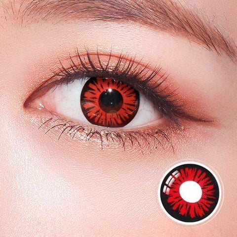 Kuroko's Basketball Red Anime Colored Contact Lenses | Lamon Beauty