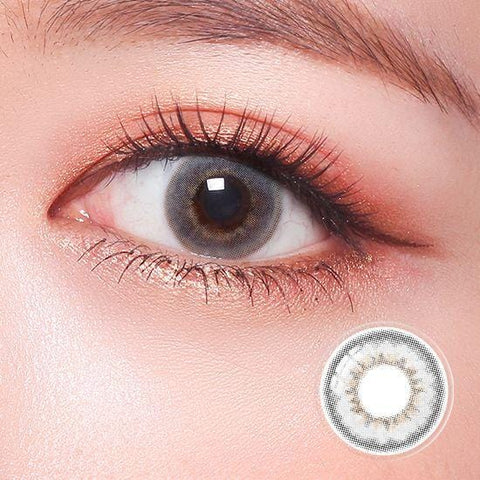 Celebriti Brilliance Gray Color Contact Lenses | Lamon Beauty