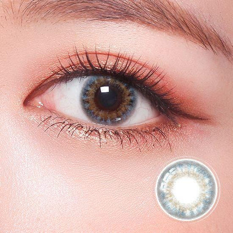 Celebriti Veil Blue Color Contact Lenses | Lamon Beauty