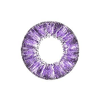 Super Crystal Glitter Violet Colored Contact Lenses | Lamon Beauty