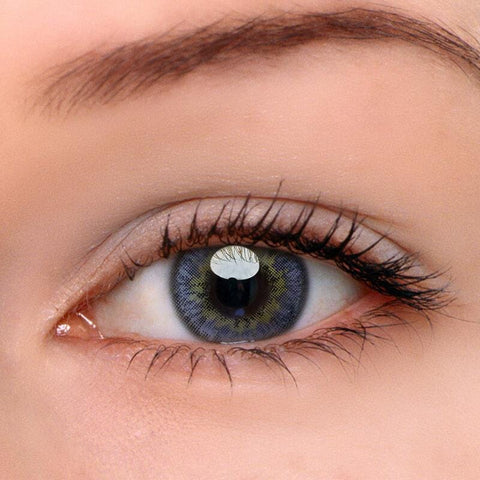 Glow Grey Colored Contact Lenses | Lamon Beauty